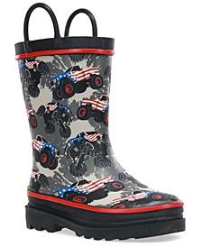Little Boys Monster Truck Glory Rain Boot