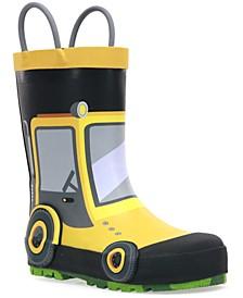 Toddler Boys Tractor Rain Boot