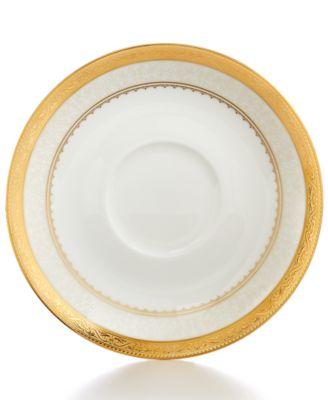Dinnerware, Odessa Gold Saucer