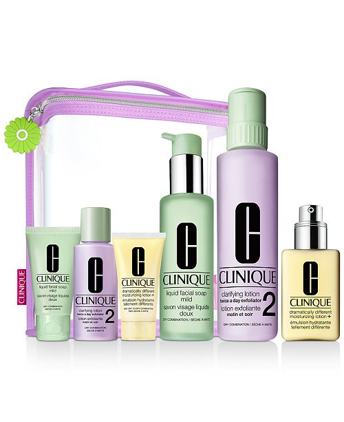 Clinique 7-Pc. Great Skin Everywhere Gift Set - I/II