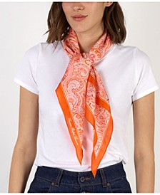 Olivia Silk Diamond Scarf