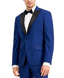 Men's Slim-Fit Cobalt Twill Sport Coat, Created for Macy's