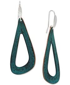 Sculptural Open Drop Earrings