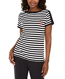 Striped Anchor Top, Created for Macy's