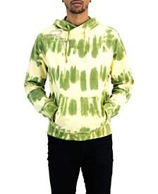 Men's Embroidered Tie Dye Hoodie
