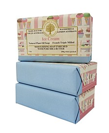 Ice Cream Soap with Pack of 3, Each 7 oz