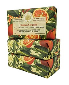 Sicilian Orange Soap with Pack of 3, Each 7 oz