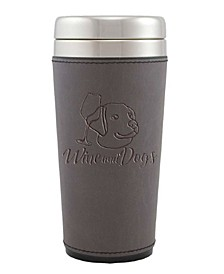 Leatherette Tumbler Coffee Mug