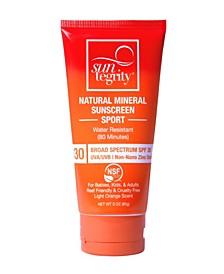Broad Spectrum SPF 30 Natural Mineral Sport Sunscreen, 3 oz