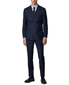 BOSS Men's T-Nordman / Barth Dark Blue Suit