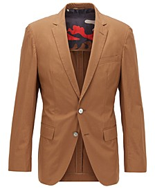 BOSS Men's Hartlay1 Dark Brown Jacket