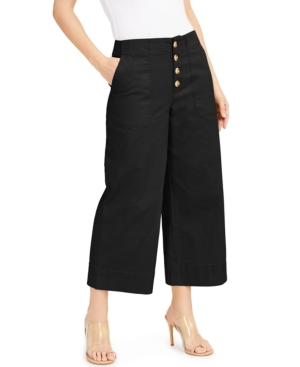 Button-Fly Culottes