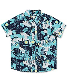 Little Boys Jungle Weekend Short-Sleeve Shirt