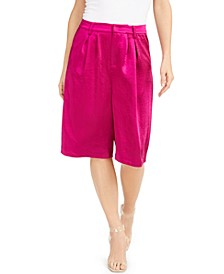 INC Satin Gaucho Pants, Created for Macy's