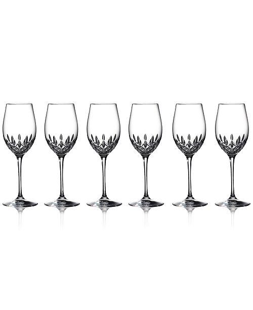 Waterford Stemware, Lismore Essence Goblets, Set of 6