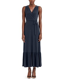 INC Faux-Wrap Maxi Dress, Created for Macy's