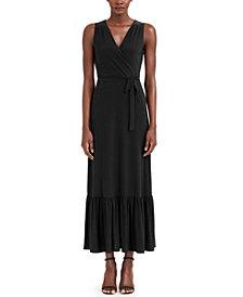 INC Faux-Wrap Maxi Dress, Created for Macy's