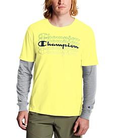 Men's Layered-Look Long-Sleeve T-Shirt