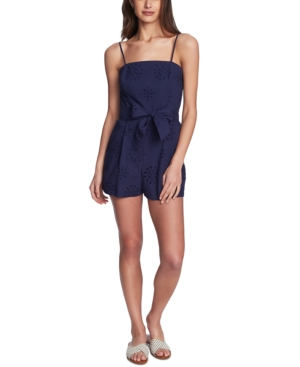 Image of 1.state Adjustable Eyelet Romper