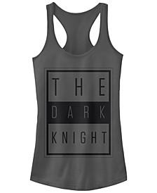 DC Batman The Dark Knight Text Poster Women's Racerback Tank