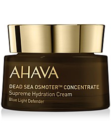 Dead Sea Osmoter Concentrate Supreme Hydration Cream Blue Light Defender, 1.7-oz.