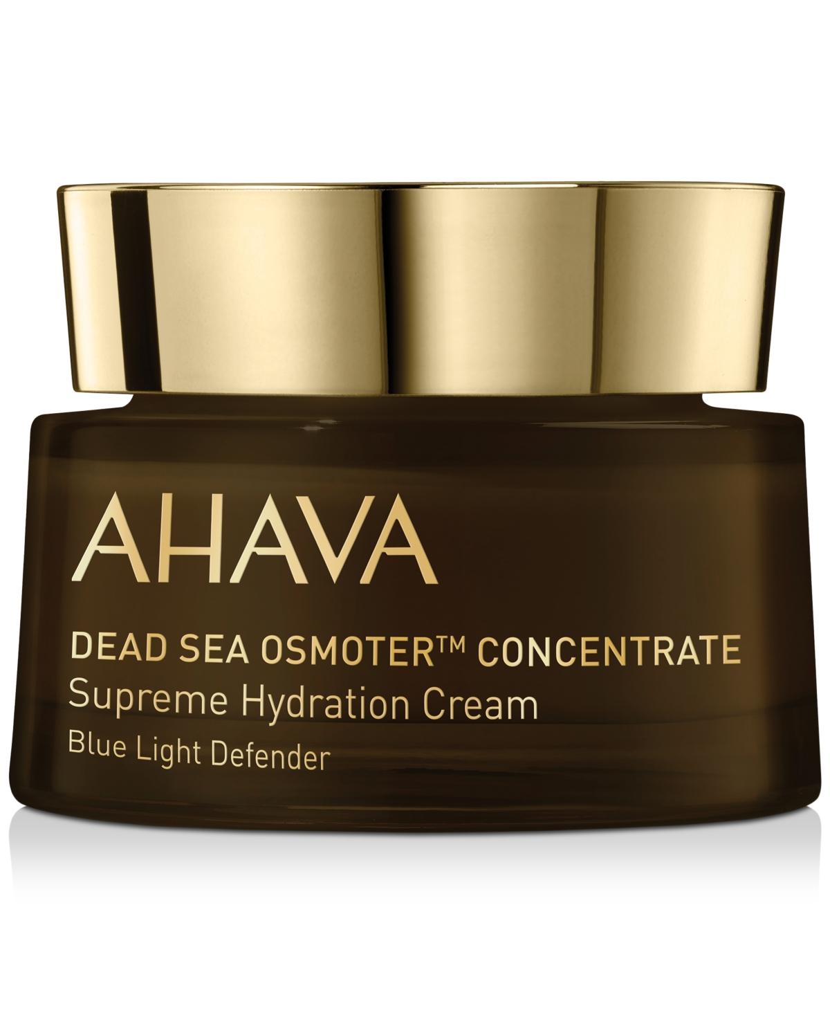 Ahava Dead Sea Osmoter Concentrate Supreme Hydration Cream Blue Light Defender, 1.7-oz.