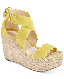 Calita Platform Espadrille Wedge Sandals