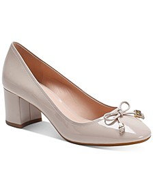 Bev Bow Pumps