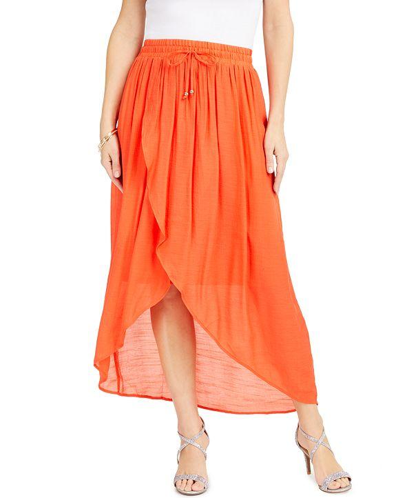 Thalia Sodi Wrap Midi Skirt, Created for Macys