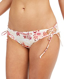 Kylie Printed Strappy Bikini Bottoms, Created for Macy's