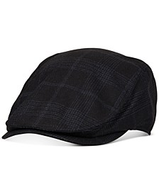 Men's Plaid Flat Top Ivy Cap