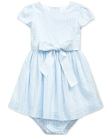 Baby Girls Plaid Fit & Flare Dress