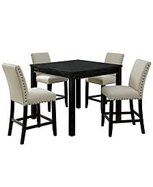Sewanee 5-Piece Counter Table Set
