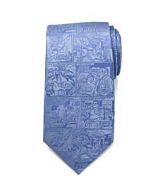 Superman Comic Men's Tie