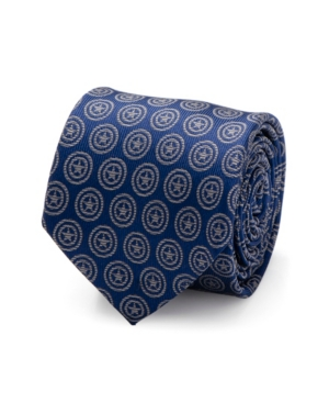 Captain America Shield Men's Tie