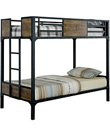 Remiro Metal Twin Over Twin Bunk Bed