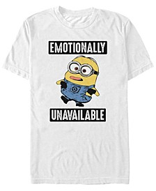 Minions Men's Bob's Feelings Short Sleeve T-Shirt