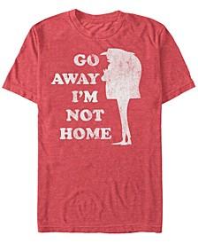 Minions Men's Gru Go Away Not Home Short Sleeve T-Shirt