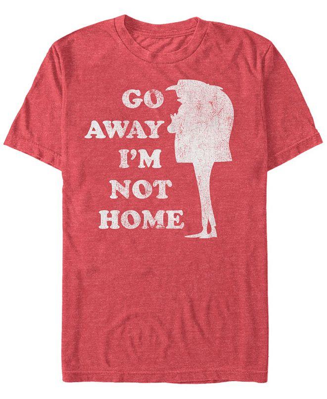 Fifth Sun Minions Men's Gru Go Away Not Home Short Sleeve T-Shirt