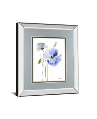 All Poppies II by Lanie Loreth Mirror Framed Print Wall Art, 34