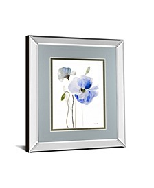 All Poppies by Lanie Loreth Mirror Framed Print Wall Art Collection