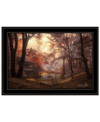 The Pool by Martin Podt, Ready to hang Framed Print, Black Frame, 21