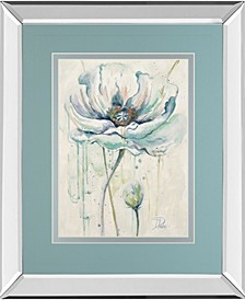 Fresh Poppies by Patricia Pinto Mirror Framed Print Wall Art Collection