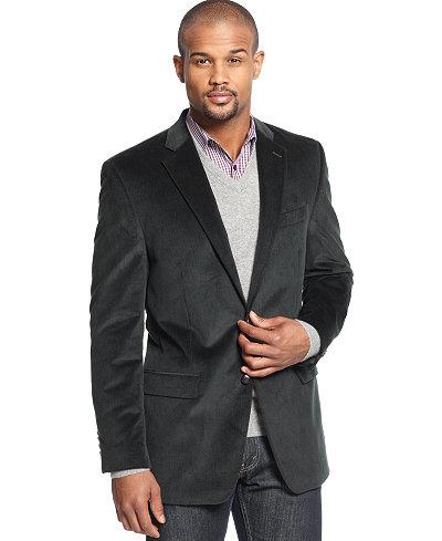lauren ralph lauren big and tall elbow patch corduroy sport coat blazers sport coats men. Black Bedroom Furniture Sets. Home Design Ideas