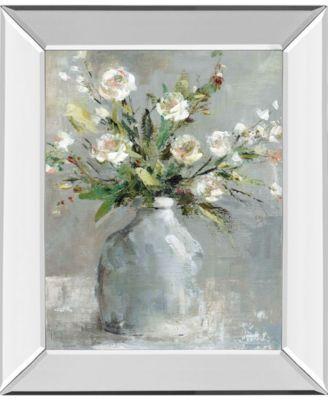 Country Bouquet I by Carol Robinson Mirror Framed Print Wall Art, 22