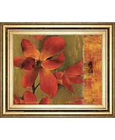Crimson by Asia Jensen Framed Print Wall Art Collection