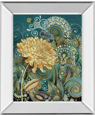 Inspired Blooms 1 by Conrad Knutsen Mirror Framed Print Wall Art - 22