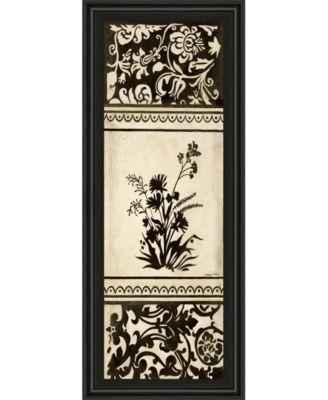 Garden Shadow Il by Kimberly Poloson Framed Print Wall Art - 18
