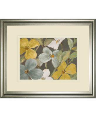 Garden Party in Gray 1 by Lanie Loreth Framed Print Wall Art, 34