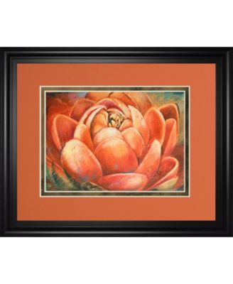 Red Lotus I by Patricia Pinto Framed Print Wall Art, 34